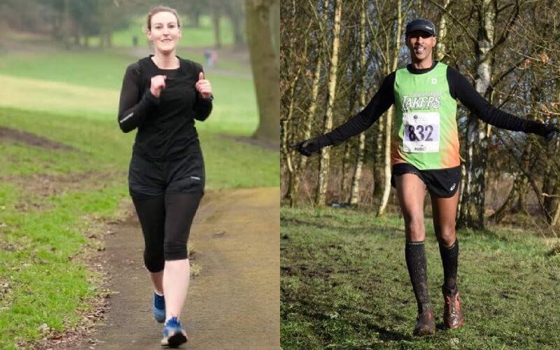 Amanda and Gabriel women's and men's winners