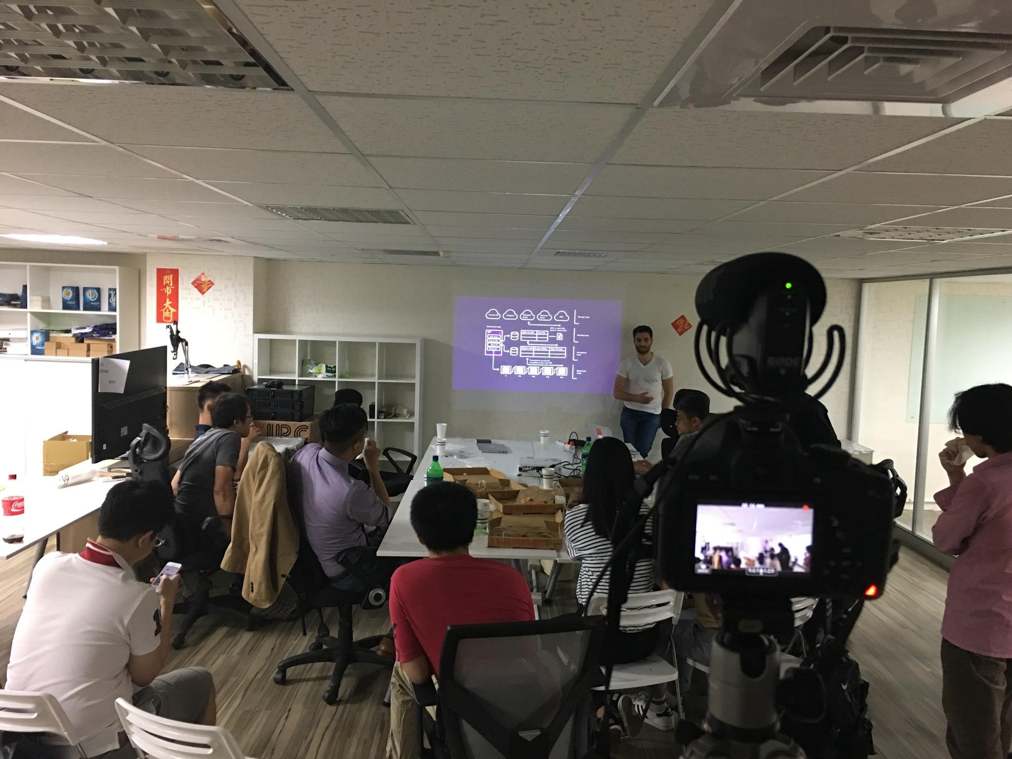 First Blockstack Meetup in Taipei.