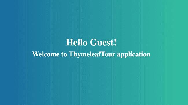 Server Side Templating in Spring Boot using Thymeleaf