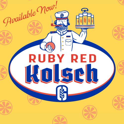 Summer Favorite Ruby Red Kolsch is now available!