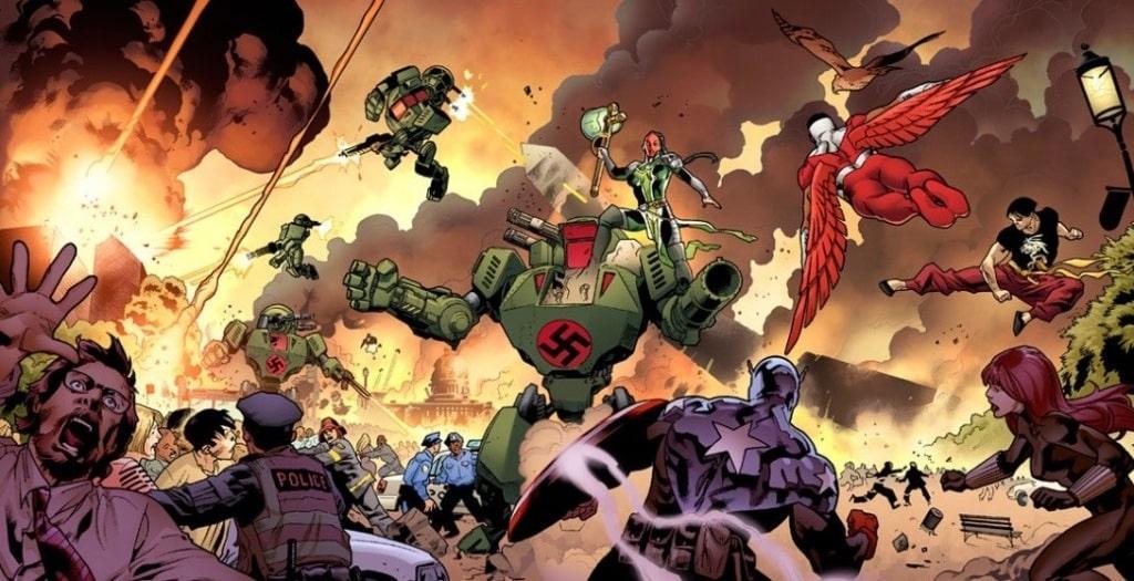 Guerra Eclode em Vingadores : A Essência do Medo