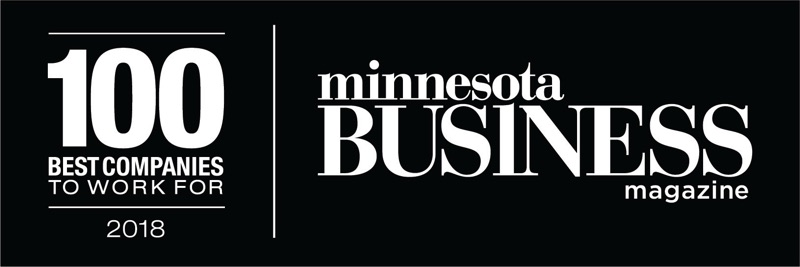 Minnesota Business Magazine: 100 Best Places to Work 2018