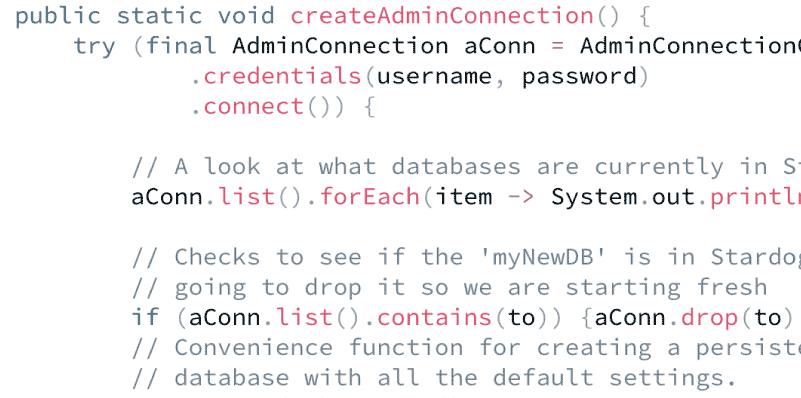 Build a Java App