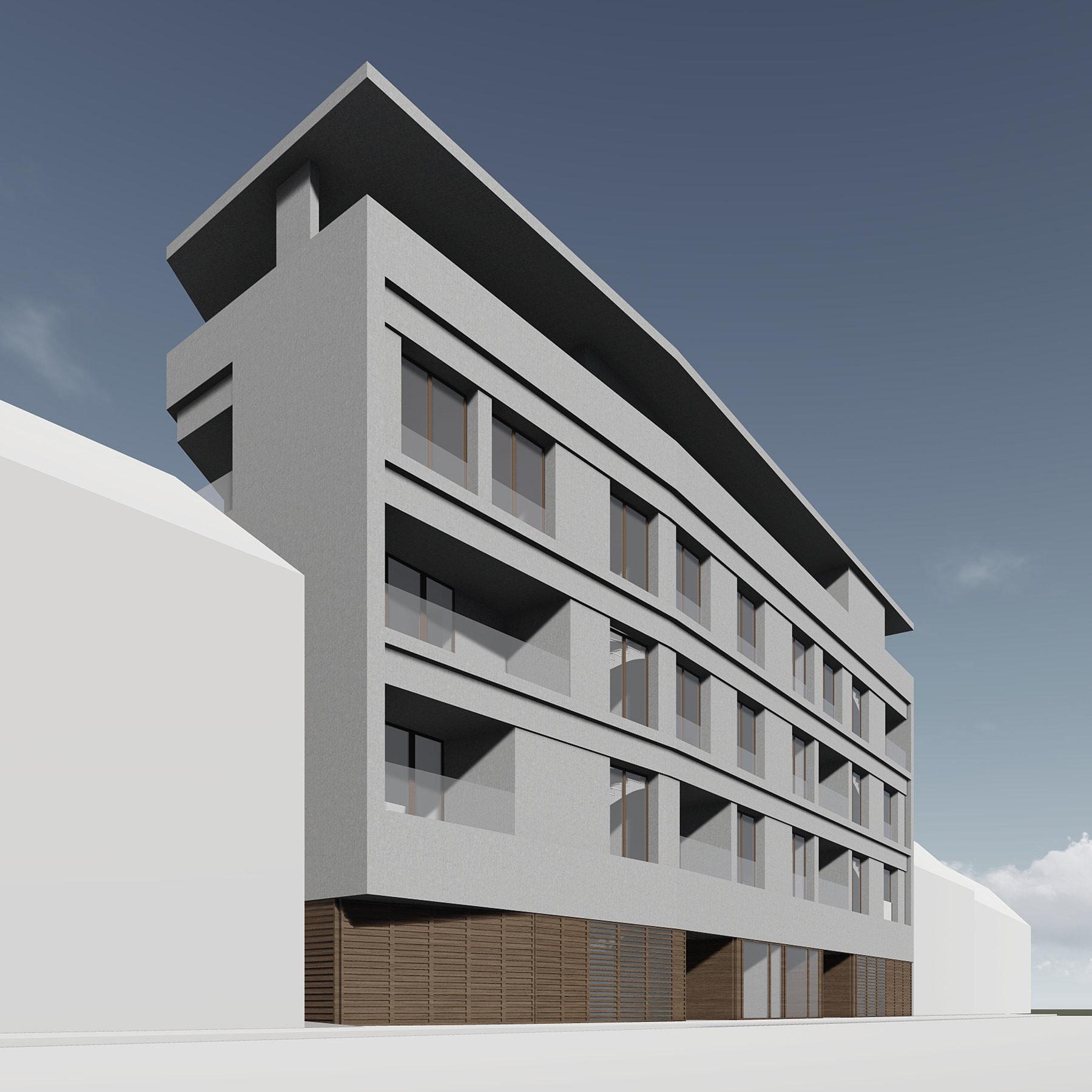 Projekt - Stambeno-poslovna građevina u Medvedgradskoj ulici