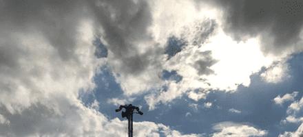 Mobile CCTV Tower – Knutsford Carpark
