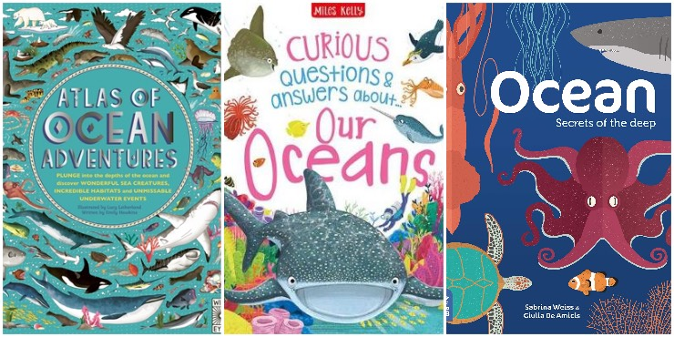 Atlas of Ocean Adventures, Curious Questions and Ansrwws about our Oceans, Ocean: secrets of the deep