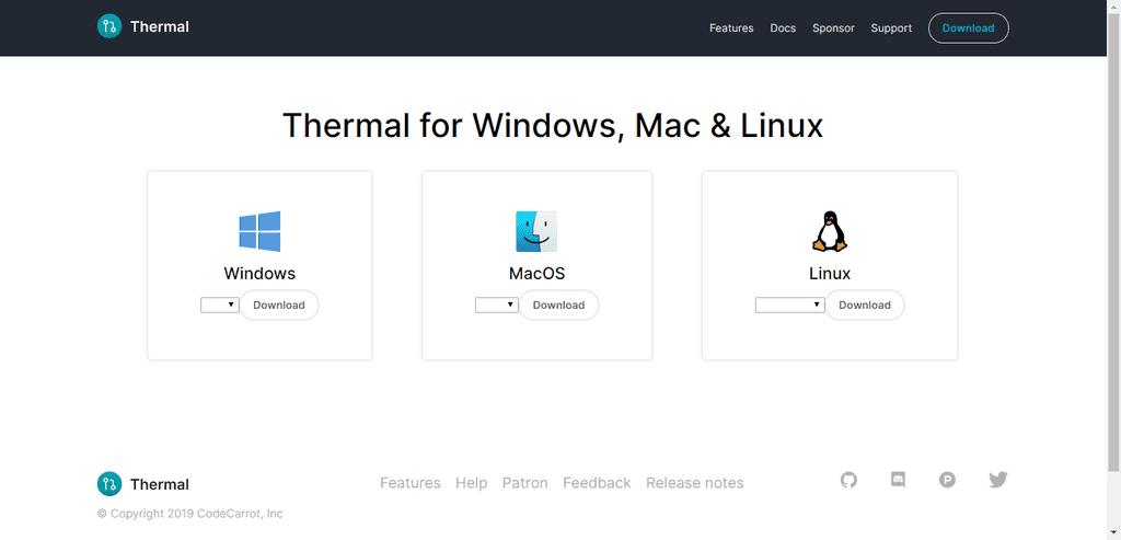 Download page screenshot