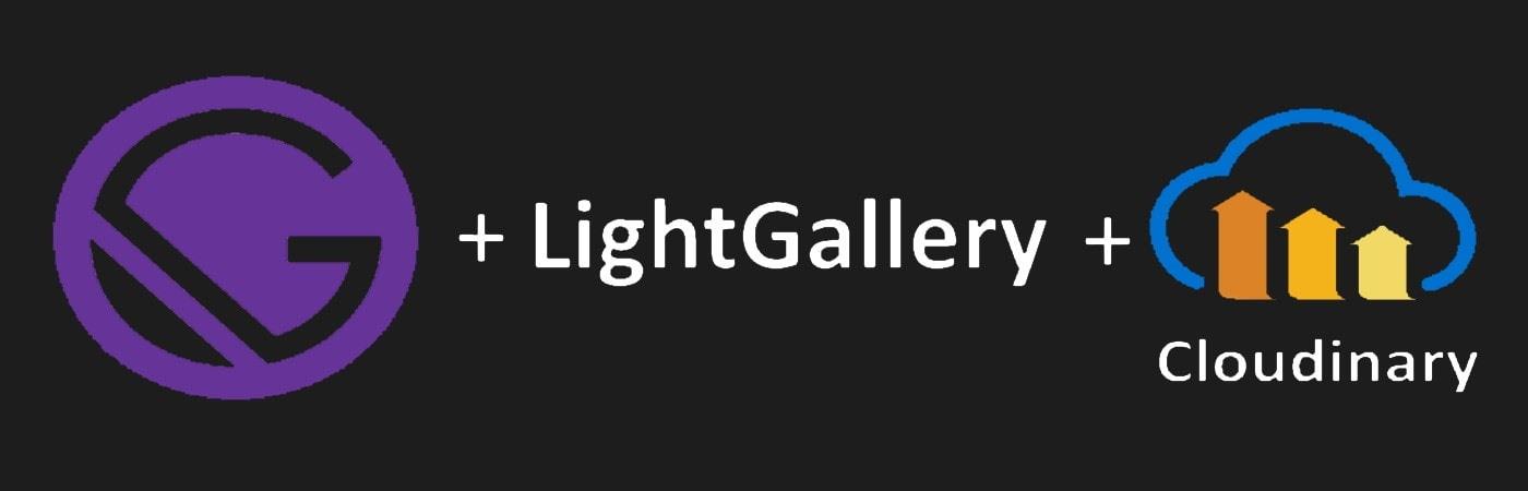 Gatsby LightGallery Cloudinary