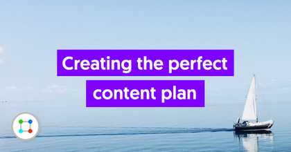 Creating the perfect Content Plan image