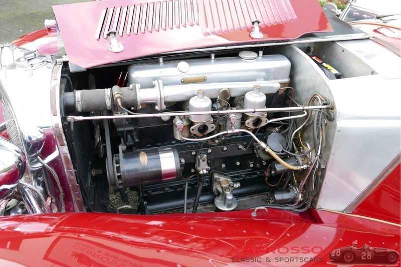 Jaguar SS100 3.5 Roadster / Heritage Trust Certificate / RHD afbeelding 4