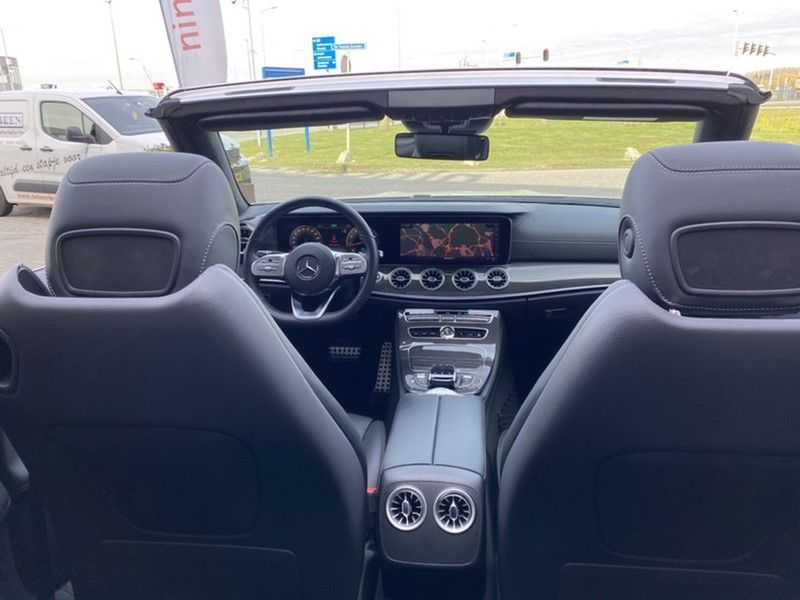 Mercedes-Benz E-Klasse Cabrio 350 AMG   Carbon   Burmester   360º   Night pakket afbeelding 21