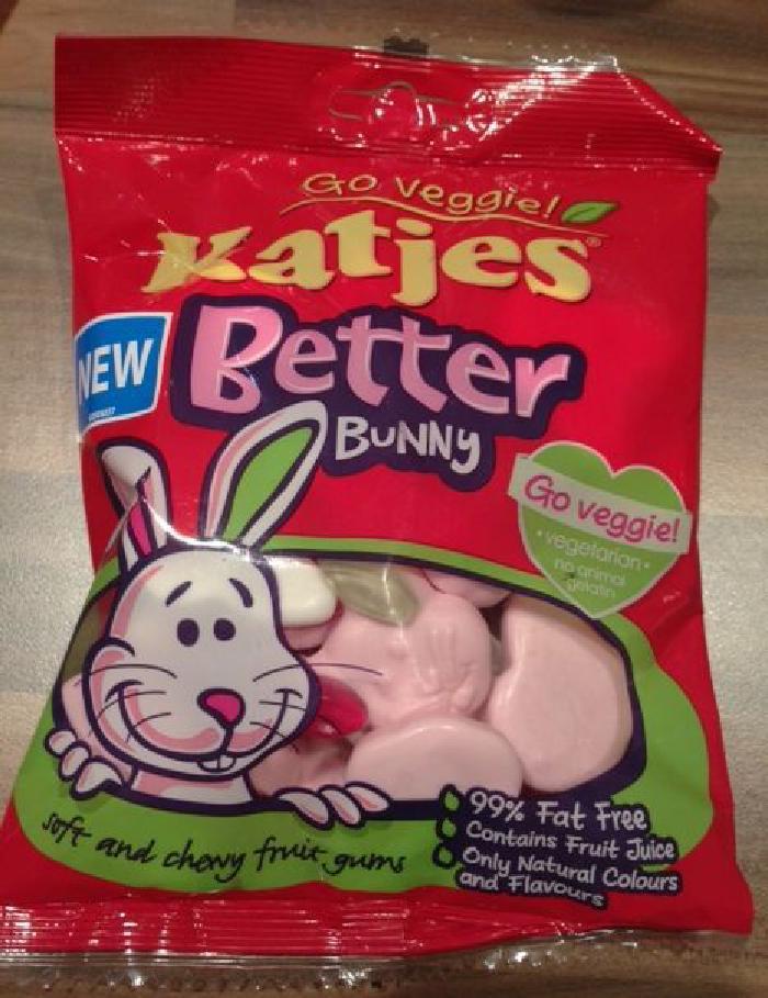 Katjes Better bunny vegetarian sweets