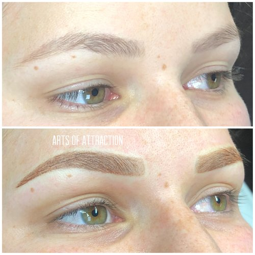 Ombre Shading/Powdered/Combo Brows