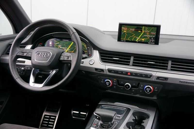 Audi Q7 3.0 TDI quattro Pro Line S S-Line / Head-Up / ACC / Side & Lane Assist / Sepang / 45dkm NAP! afbeelding 15