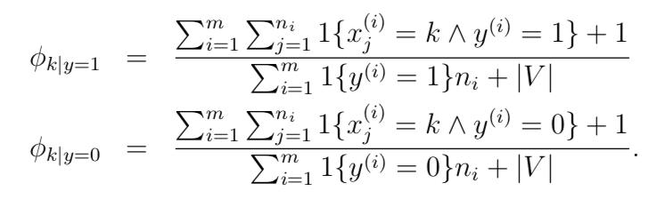 拉普拉斯平滑最大似然估计