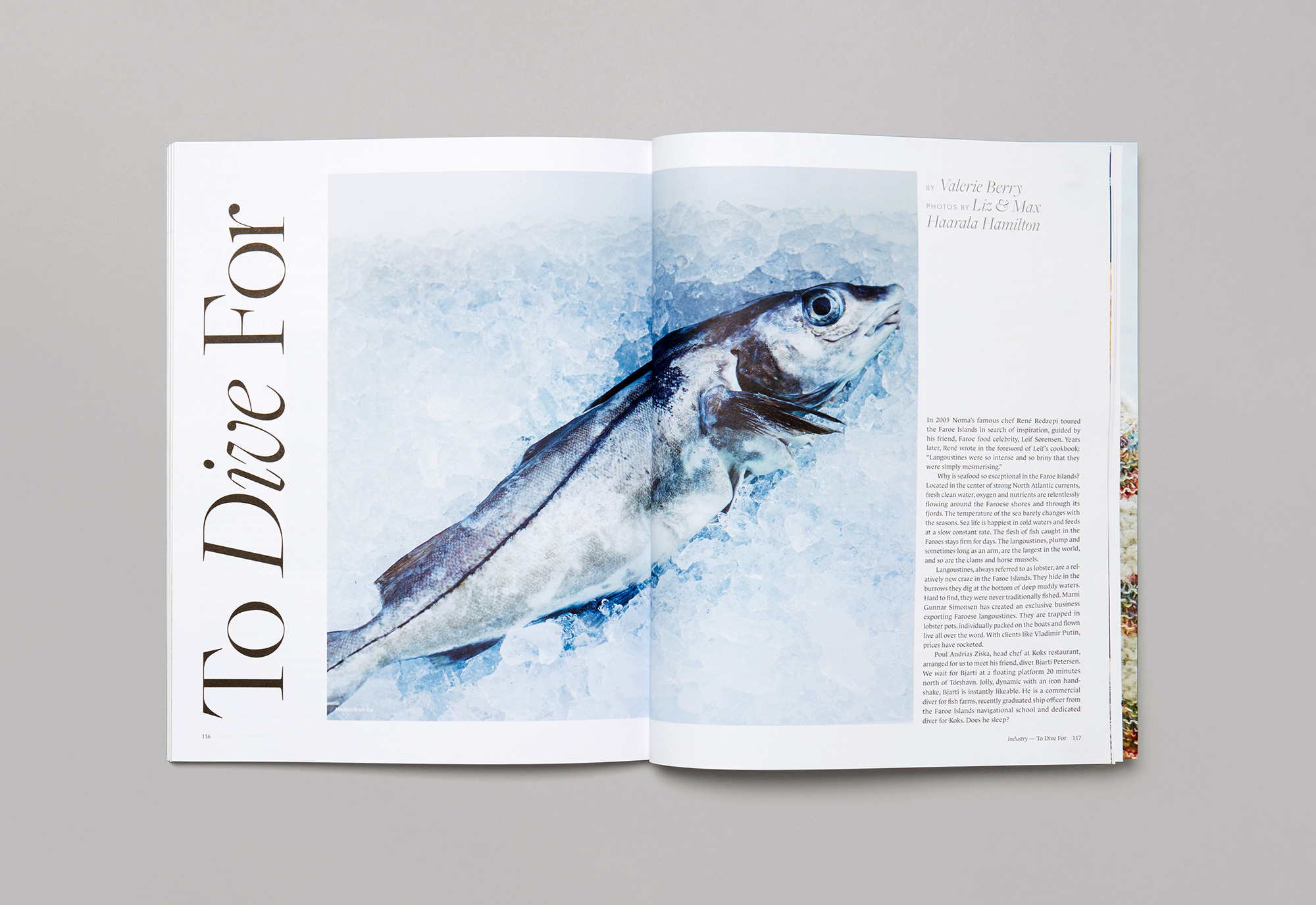 Boat Magazine designed by She Was Only