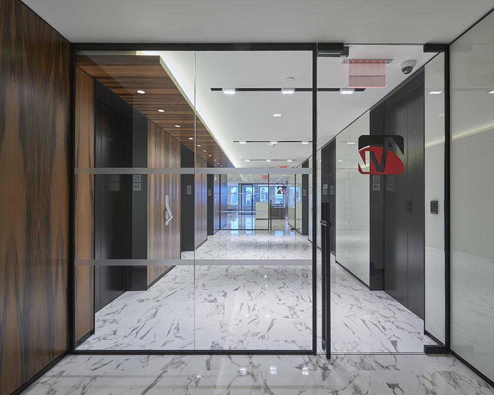 Horizon Glass Barrier and Door