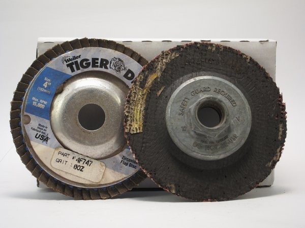 Angle Grinder flap discs for metal sanding