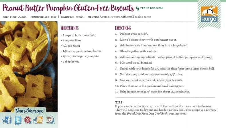 Holiday Recipe: Peanut Butter Pumpkin Biscuits