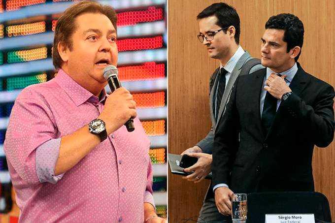 Faustão: Em diálogos, Moro revela conselho de Fausto Silva à Lava Jato