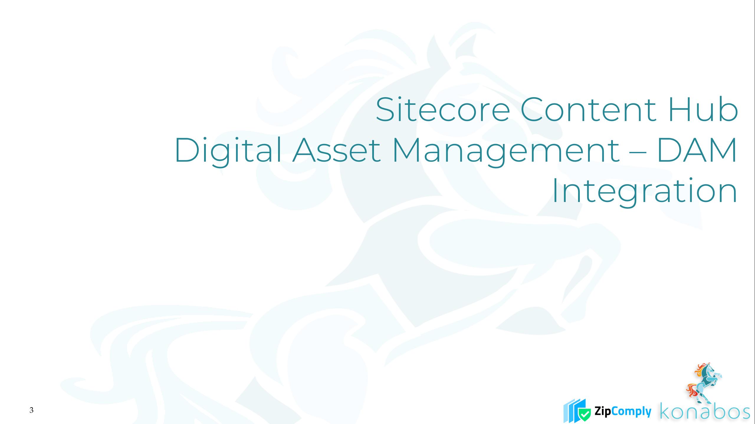 Sitecore Content Hub - Digital Asset Management - DAM - Integration