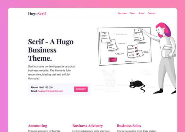 Hugo Serif- cover