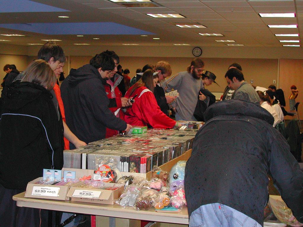 The Artist Alley at Animarathon 2005.