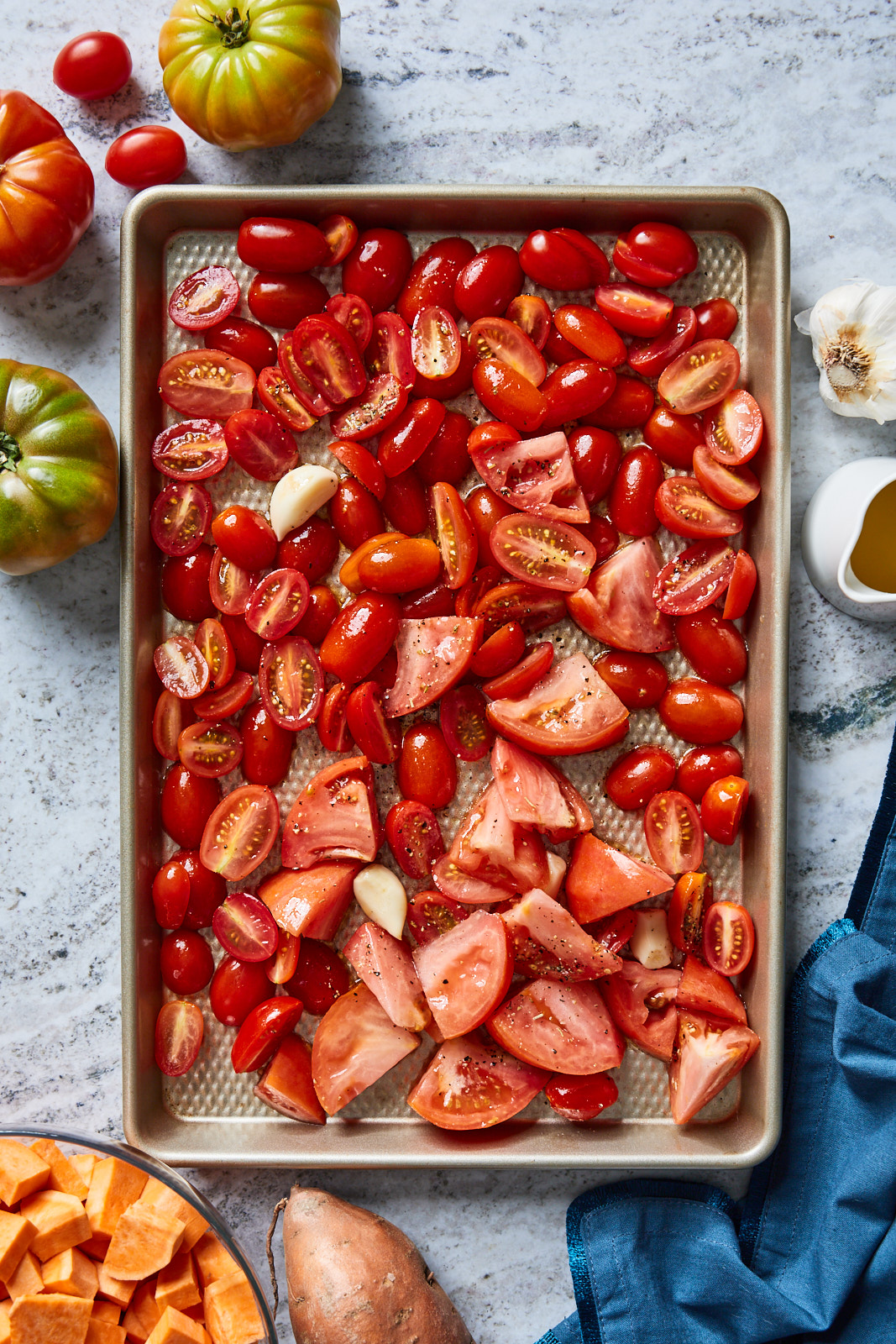 Roasted Tomato And Sweet Potato Soup