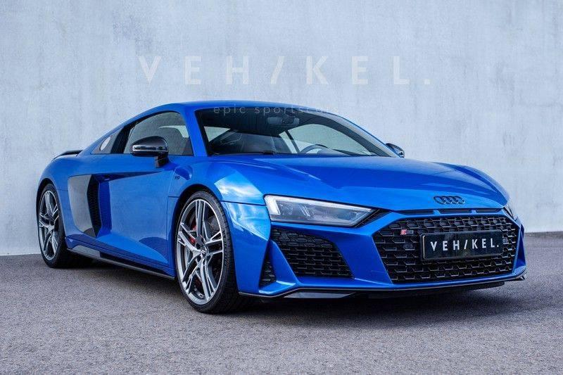 Audi R8 5.2 performance quattro // Ara Blue afbeelding 6