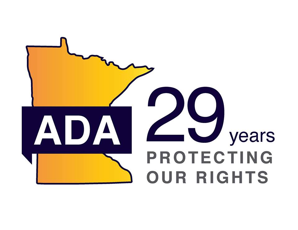 MN Department of Human Rights 29th Annual ADA Celebration logo