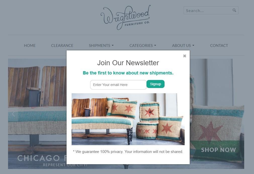 Wrightwood furniture