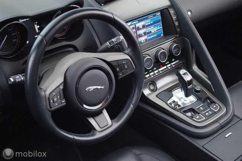 Jaguar F-Type 3.0 V6 Convertible   398 Pk, 500 Nm   Leder   afbeelding 19