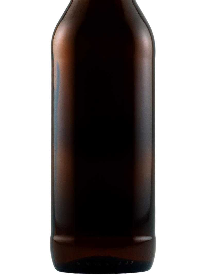 Blank beer bottle for custom etching