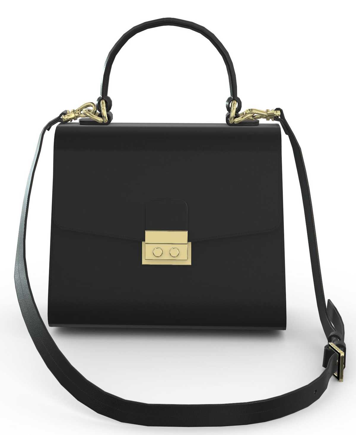 Almaaz Lock Small - black