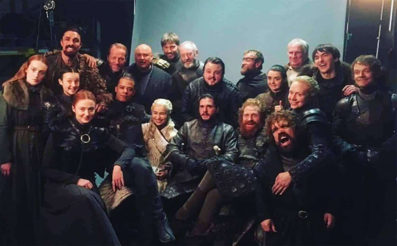 Elenco do episódio final da série Game of Thrones da HBO