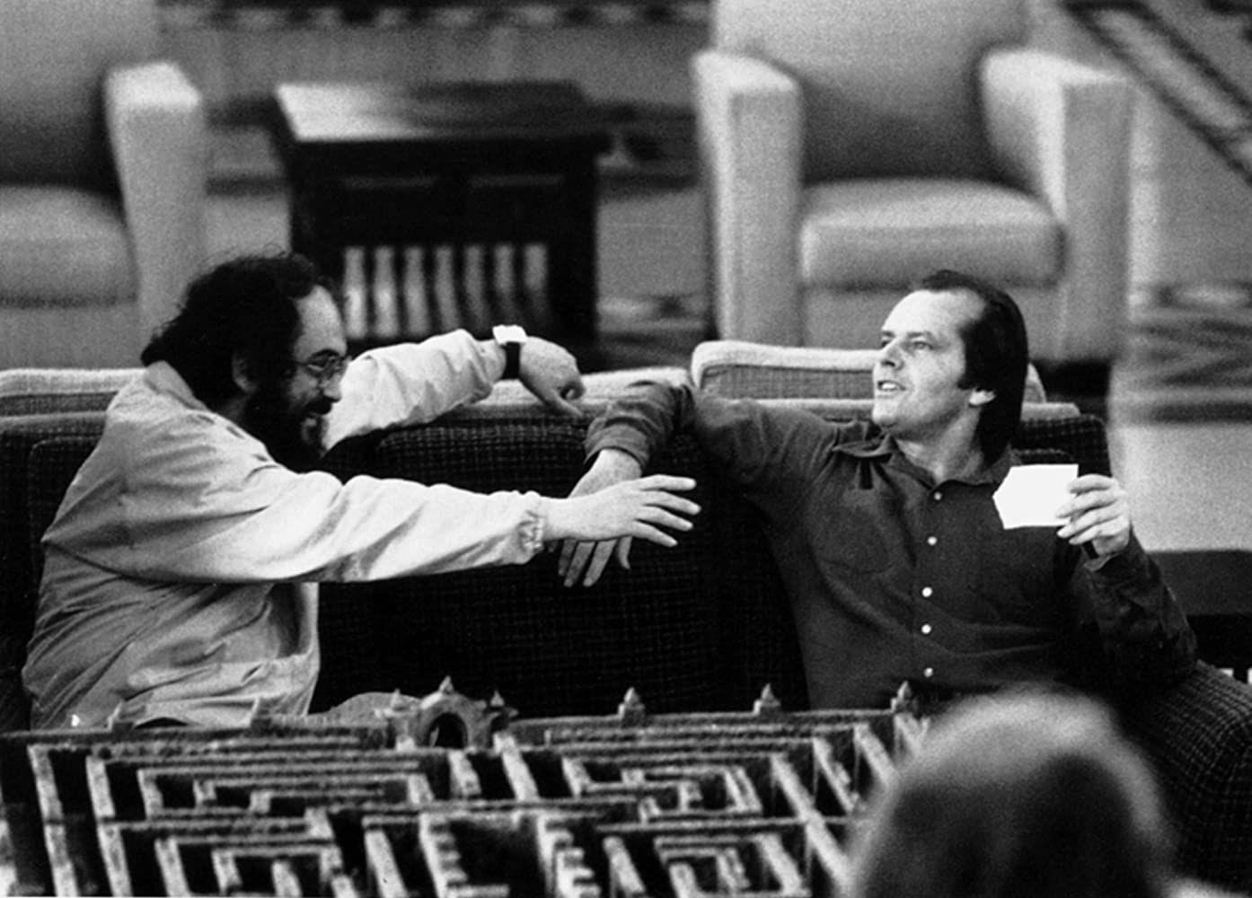 Стэнли Кубрик иДжек Николсон насъемках «Сияния». Фото: imdb.com
