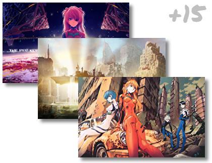 Evangelion theme pack