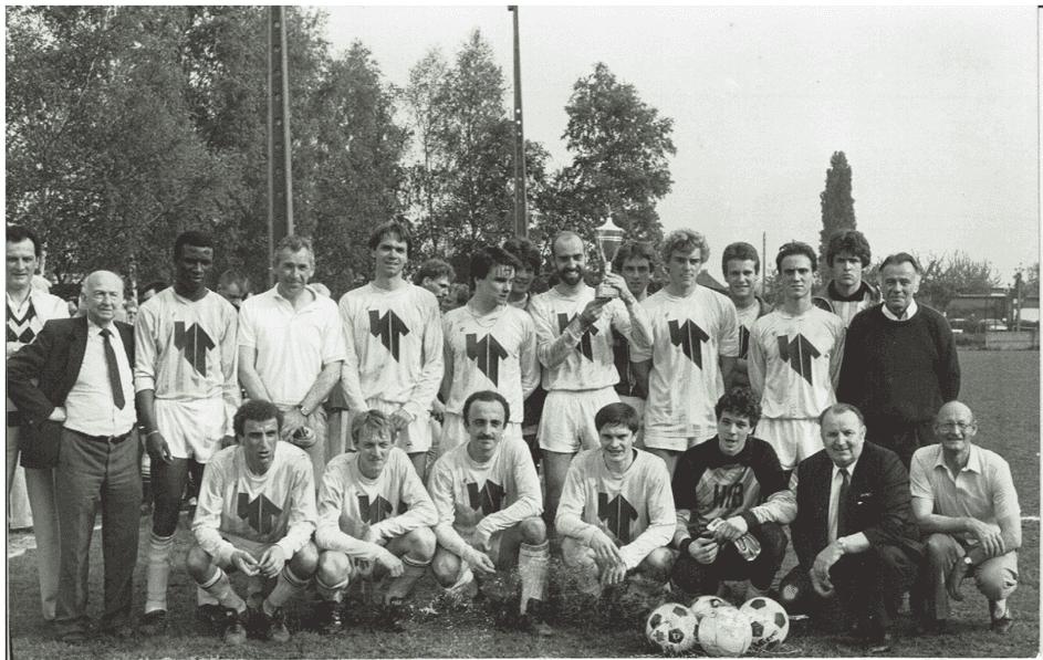 Figuur 5: Crossing Elewijt won de beker van Brabant in 1988