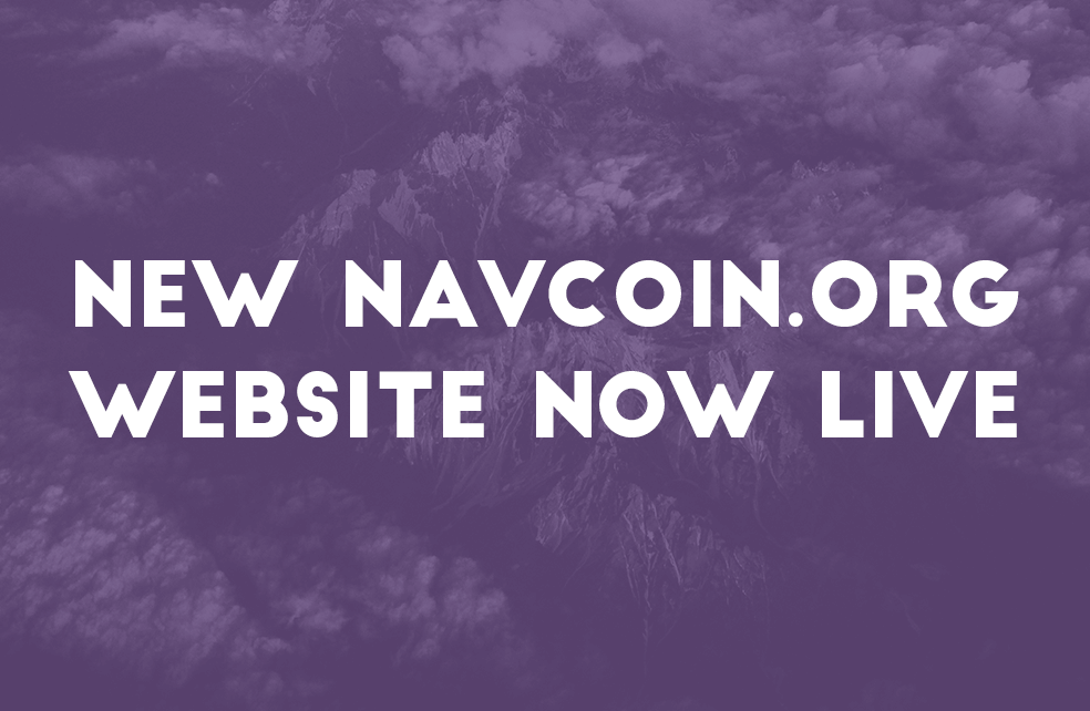 New Navcoin.org website now live