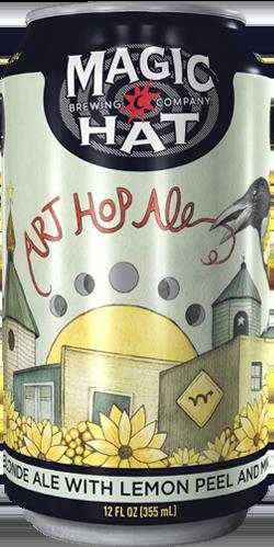 Art Hop Ale Can