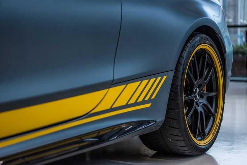 Mercedes-Benz C-Klasse Coupé 63 S AMG Edition 1 Yellow   Keramiek   HUD afbeelding 5