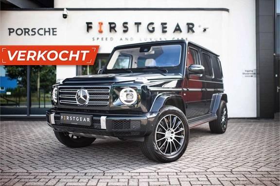 "Mercedes-Benz G-Klasse G 500 Designo *20"" AMG / Adapt. Onderstel / Burmester / Standkachel / Schuifdak / Massage*"