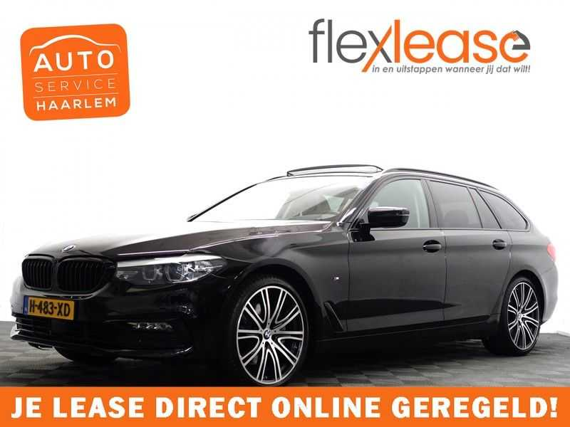 BMW 5 Serie Touring 530d X-Drive 266pk M-Sport Shadow Line Aut8- Panodak, Camera, Head-up, Full!
