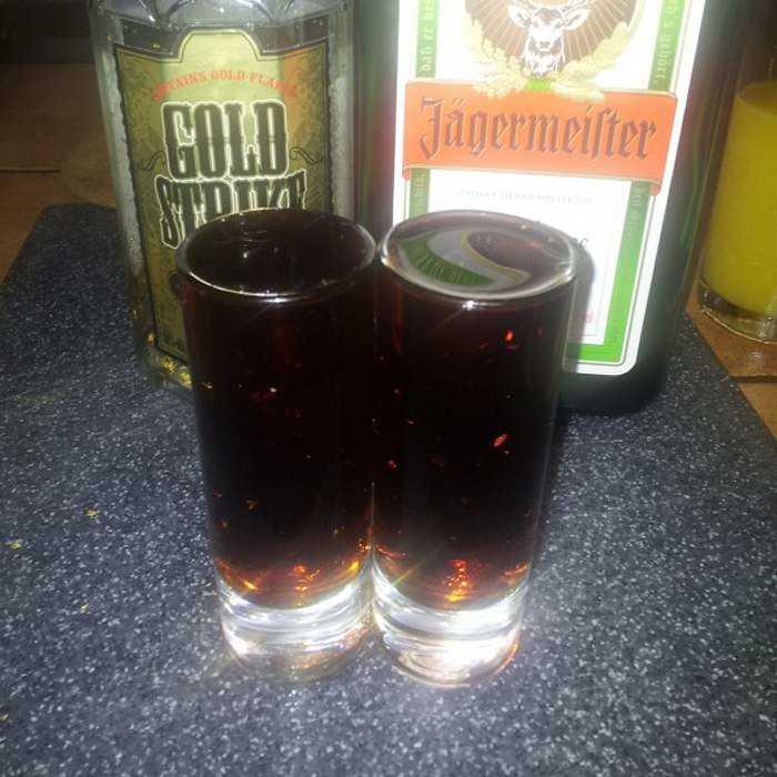 Auburn Headbanger Cocktail