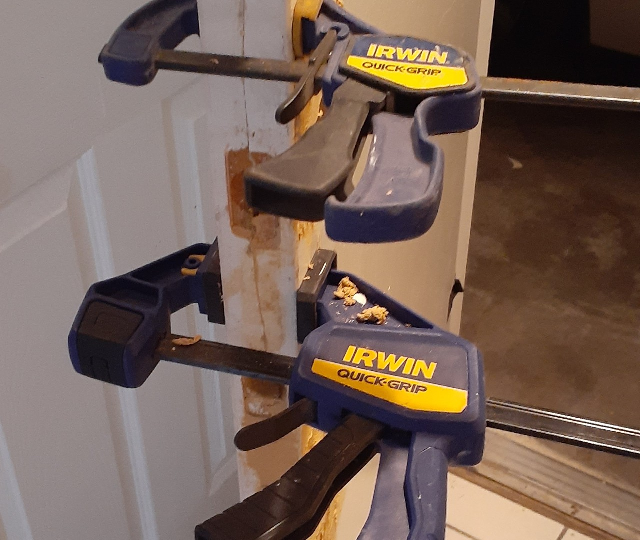 Repairing a broken door handle