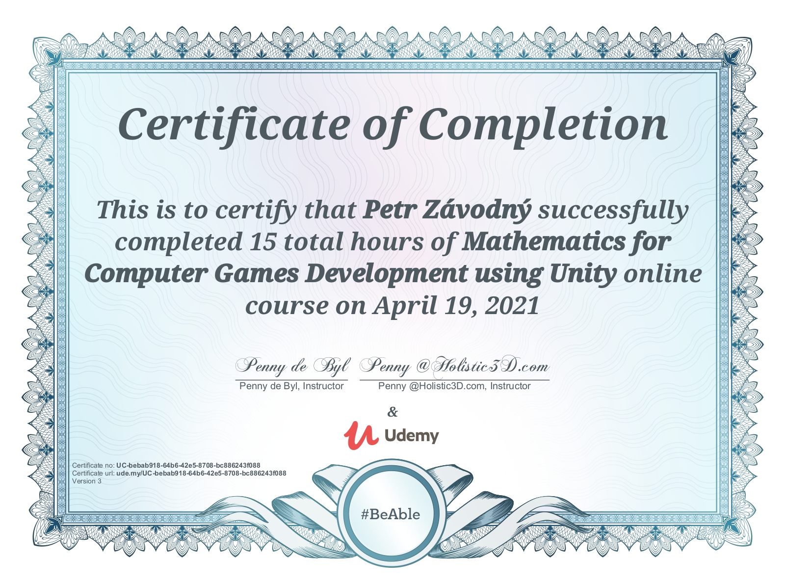 Mathematics for Game Dev Unity