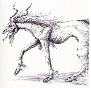 Demon Horse Sketch