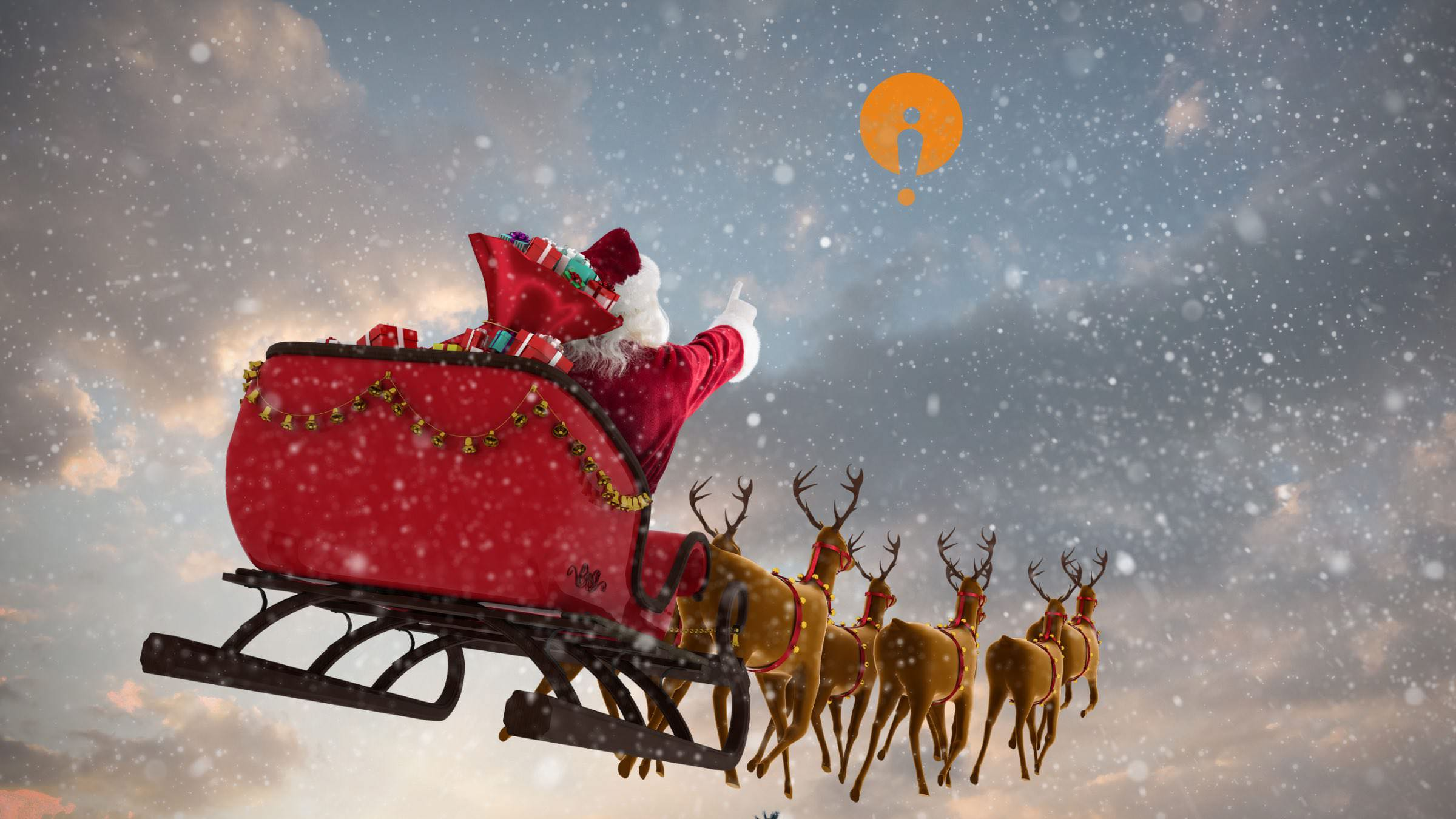 Santa sees our new brand
