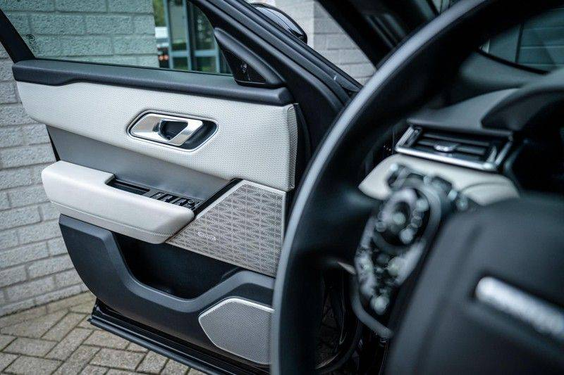 Land Rover Range Rover Velar 3.0 V6 SC AWD R-Dynamic HSE, 380 PK, Head/Up, Black/Optic, Adapt. Cruise, Pano/Dak, Luchtvering!! afbeelding 18