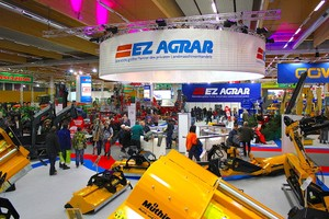EZ AGRAR at the AGRARIA 2016 in Wels - Austria's leading trade fair for agricultural engineering